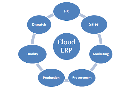 How does an Erp System Work?