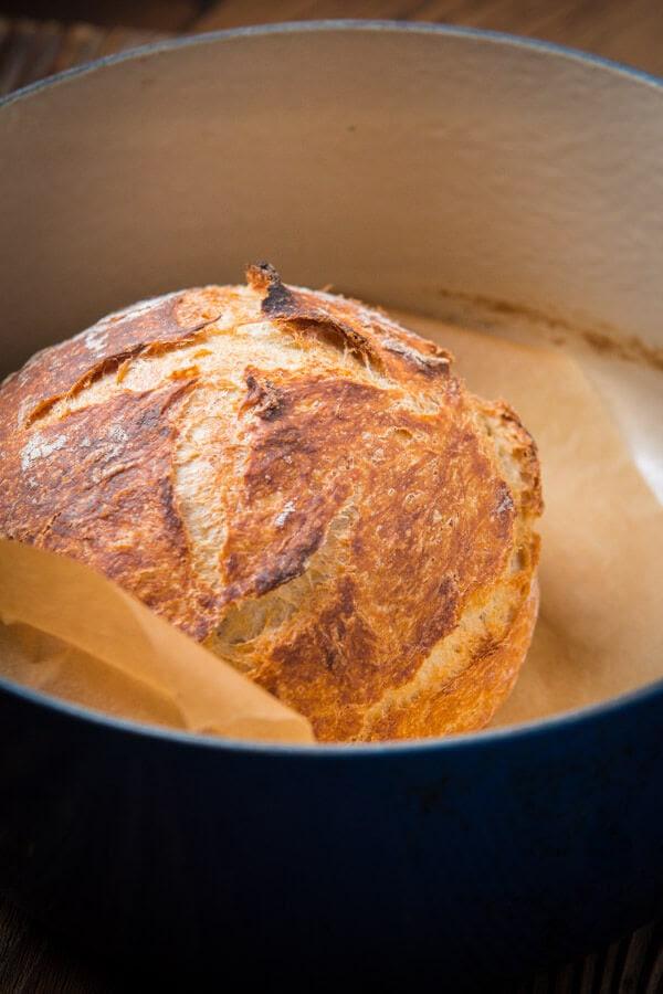 Easy No Knead Artisan Bread - Oh Sweet Basil