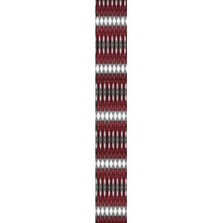 Red Lens Pattern Tiled tie