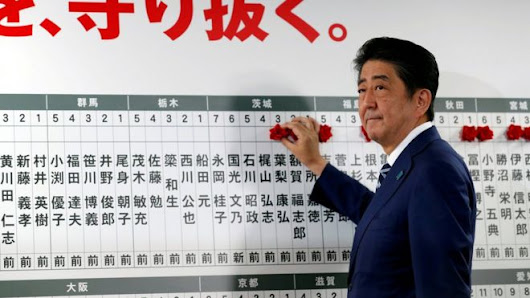 Japan PM Shinzo Abe promises to handle North Korea threat