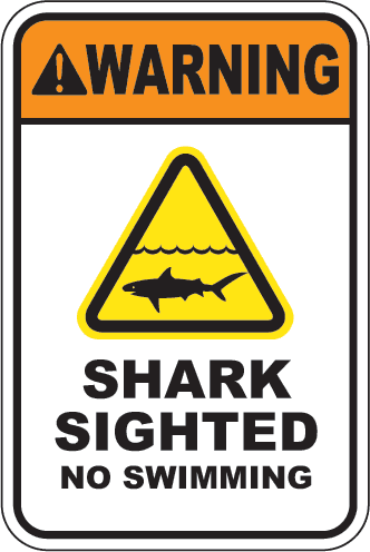 Warning: Shark Sighted