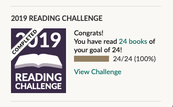 I've Done My Goodreads Challenge!