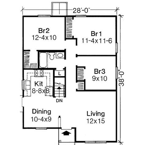 sq ft house plans  bedroom google search bogard