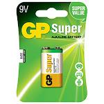 Primary Source 30301 Gp Super 9V Alkaline Battery