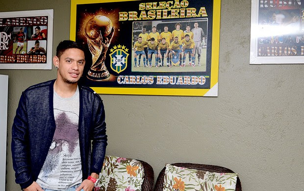 Carlos Eduardo entrevista Flamengo especial (Foto: André Durão / Globoesporte.com)