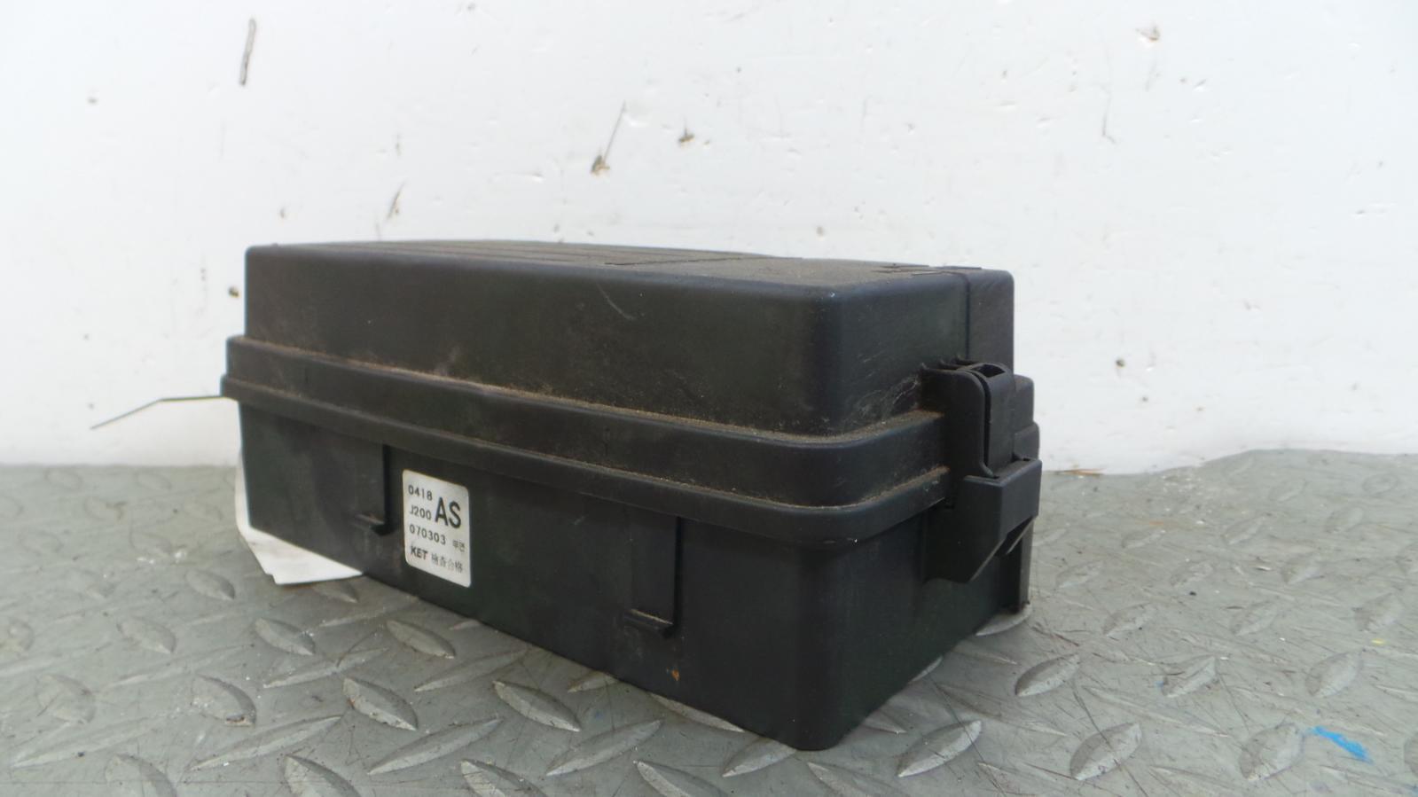 Chevrolet Lacetti Fuse Box Location