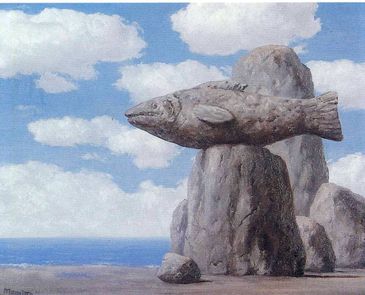 The connivance, 1965 Rene Magritte