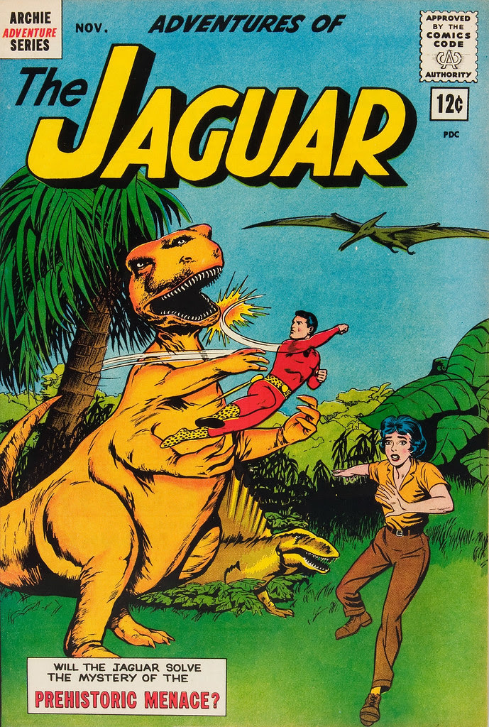 Adventures of the Jaguar #10 John Rosenberger Cover (Archie, 1962)