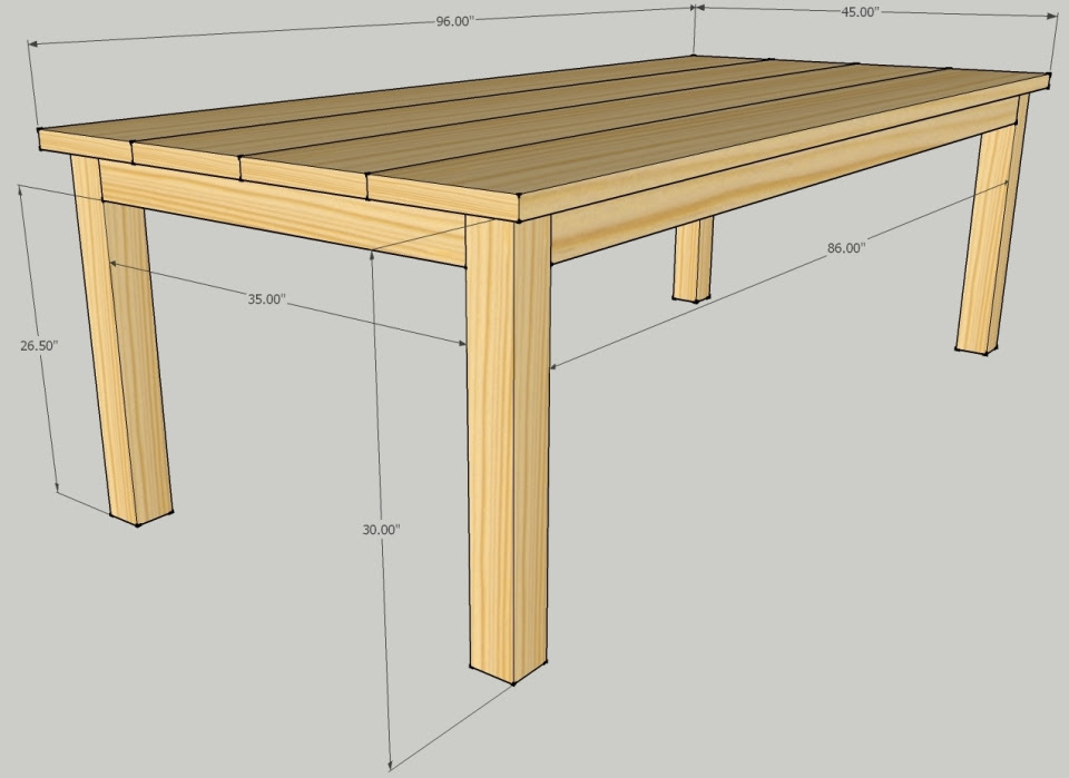 Outstanding Build Outside Table Plans Easy Wood Projects To Build Download Free Architecture Designs Scobabritishbridgeorg