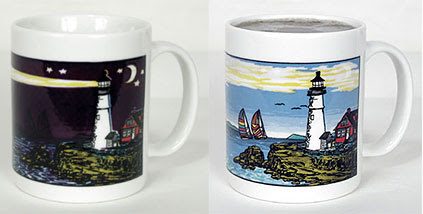 Lighthouse Color Changing Mug