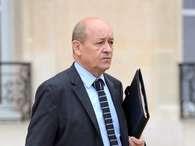 O ministro de Defesa francês, Jean-Yves Le Drian       Foto: AFP