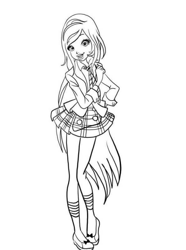 Kids N Fun Com 16 Coloring Pages Of Regal Academy