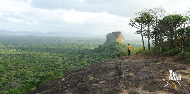 Admiring Sigriya from Pidurangala Rock, Srilanka