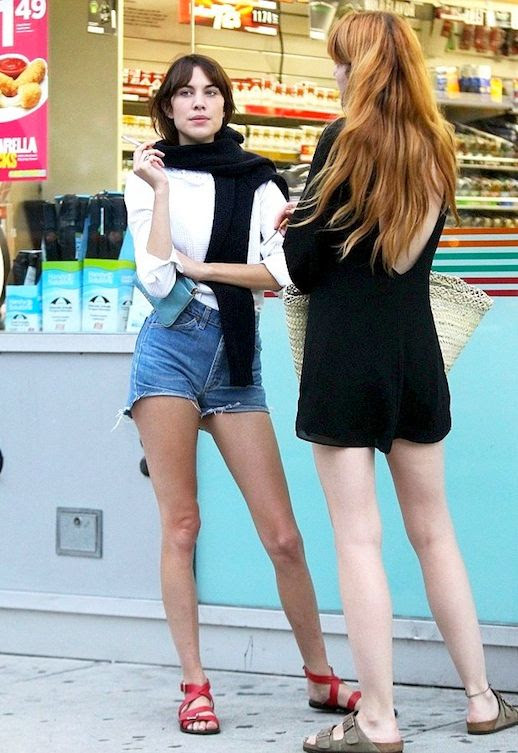 22 Le Fashion Blog 40 Of Alexa Chung Best Looks With Denim Shorts White Top Red Strappy Sandals Jean Cut Offs Via Daily Mail UK photo 22-Le-Fashion-Blog-40-Of-Alexa-Chung-Best-Looks-With-Denim-Shorts-White-Top-Red-Strappy-Sandals-Jean-Cut-Offs-Via-Daily-Mail-UK.jpg