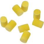 3M Disposable Ear Plugs with Case - 4 Pair