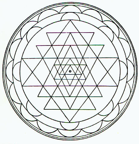 Mandala Boyama örnekleri Yaşam Gücü