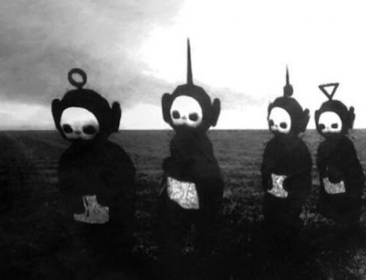 Teletubbies in Black and White, Set to Joy Division