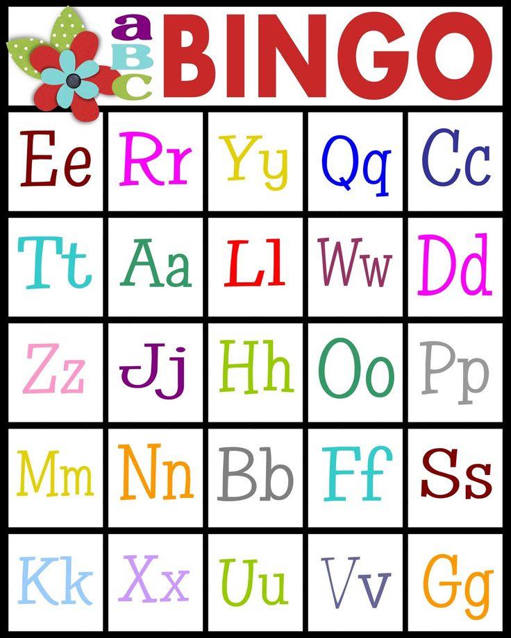 1000+ images about Bingo // kids on Pinterest | Nutrition ...