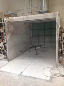 VOC emissions Often Require Spray Booths To Included In Facility Wide Air Emission Permit