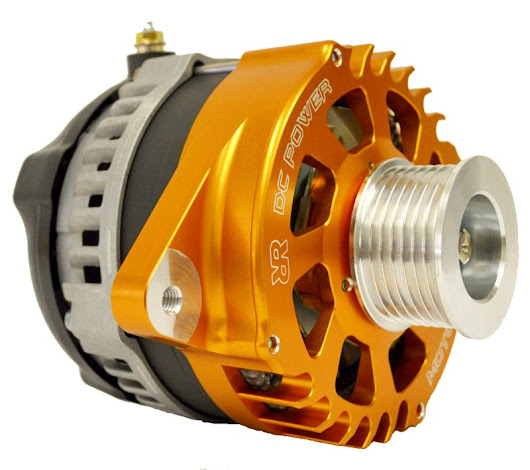 Nissan Xterra High Output Alternator by Rugged Rocks 2005 - 2015 4.0L V6, 180 Amp