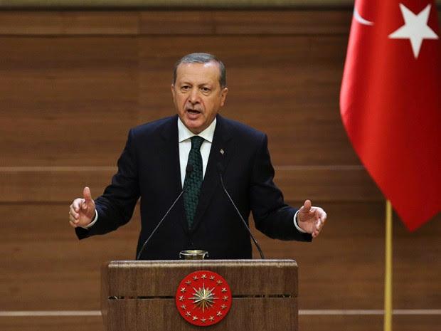 O presidente turco Recep Tayyip Erdogan, em foto de 12 de agosto (Foto: AFP Photo/Adem Altan)