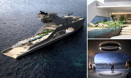 The superyacht with everything a billionaire could ever want