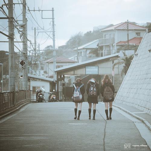 #19 江之島電鐵,鎌倉高校前