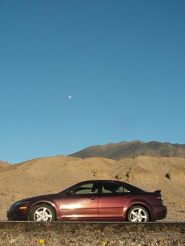 Mazda 6 in Death Valley California