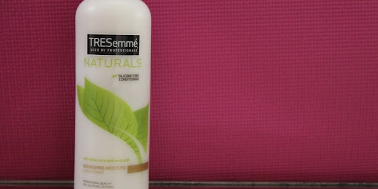 TRESemme Naturals Silicone-Free Conditioner Review | Melting Pot Beauty