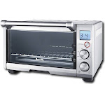 Breville - the Compact Smart Oven Toaster/Pizza Oven - Brushed Stainless Steel