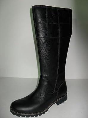 9dcf9f97490 alingadfg: WOMEN'S TIMBERLAND BLACK WATERPROOF TALL LEATHER BOOTS ...