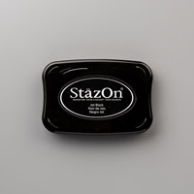 Jet Black StazOn Pad by Stampin' Up!