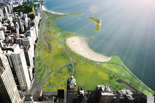 The Future Of Lake Shore Drive? Stunning New Beaches And 70 New Park Acres