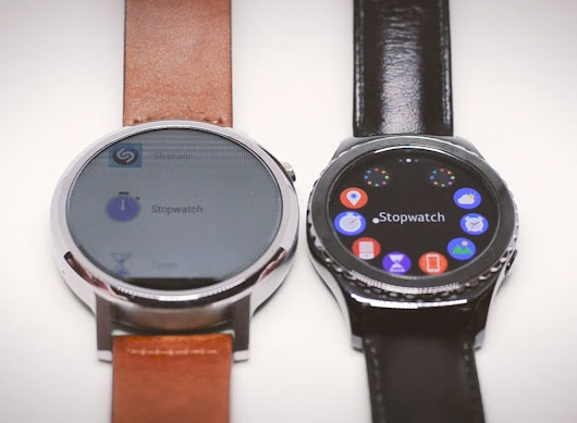 Samsung Gear Tizen or Android Wear: Which smart watch suits you better? - IoT Gadgets