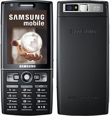 Samsung SGH-i550W Mobile Phone - Front & Rear