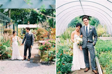 An Herb Farm Wedding: Jen   Simon   Green Wedding Shoes