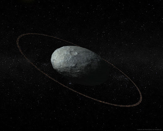APOD: 2017 October 17 - Haumea of the Outer Solar System
