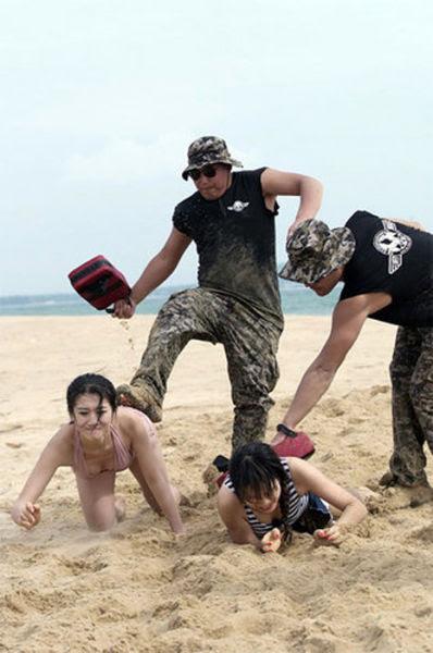 Chinese Female Bodyguard Training