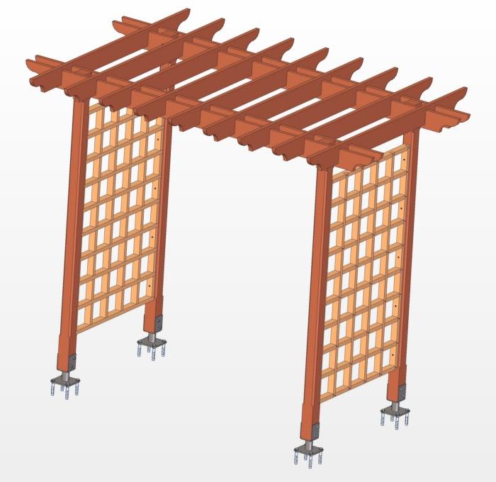 Diy Wooden Trellis Plans Adirondack Chair Designs Free