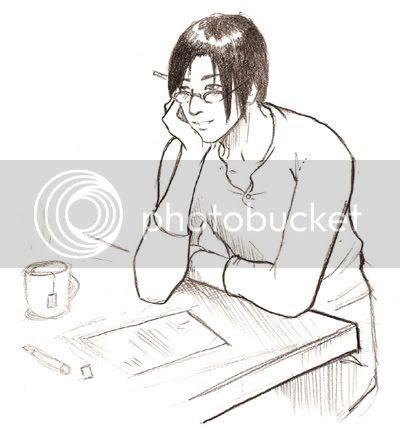 Haku trying to work