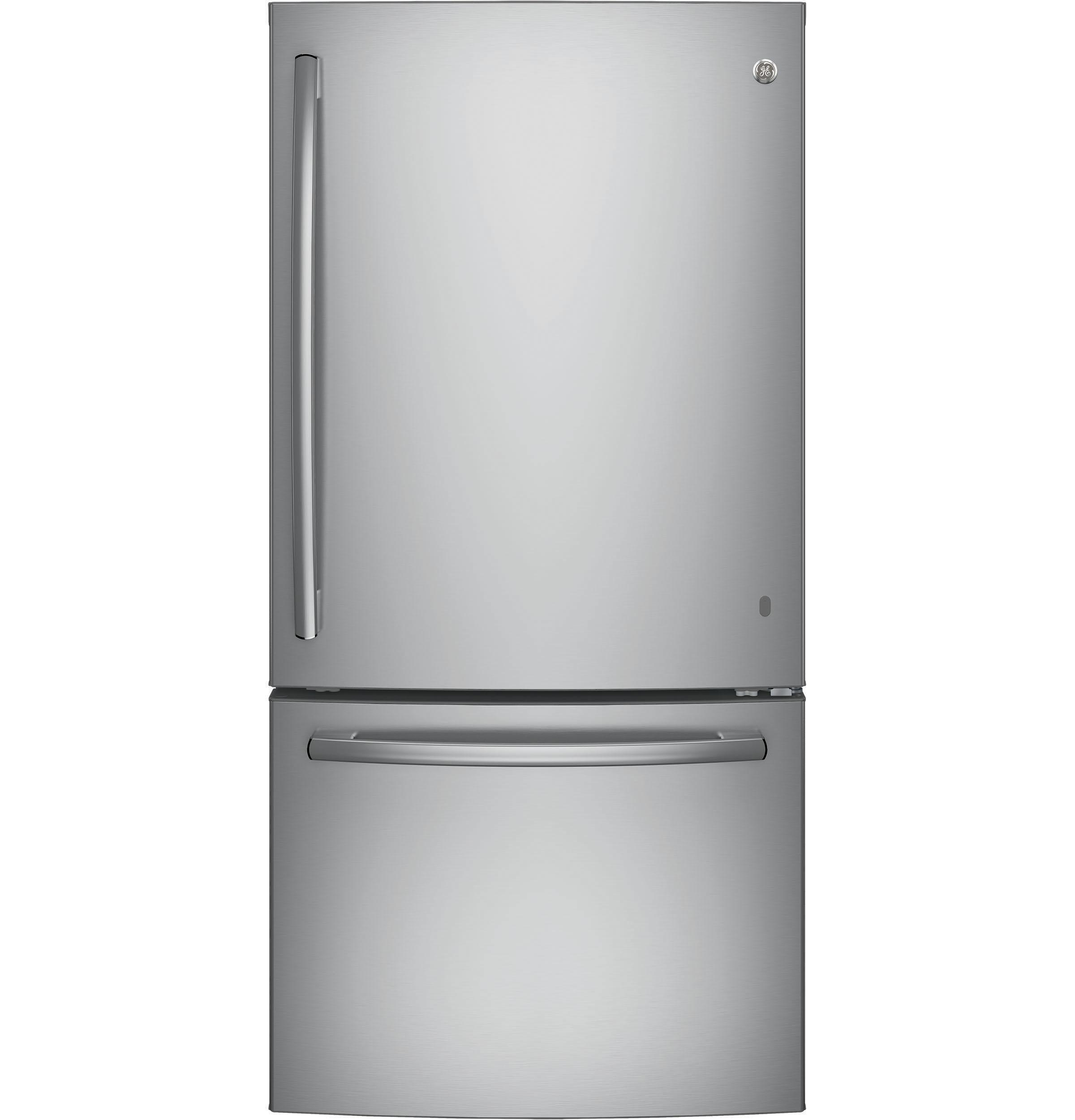 GE Appliances GDE25ESKSS 24 9 cu ft Single Door Bottom Freezer
