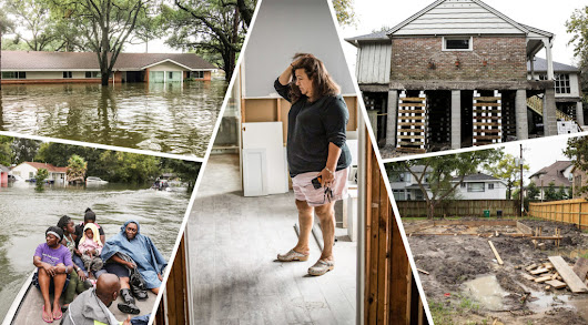 A Year After Harvey: A Houston Community Grapples With Ruined Homes, Painful Choices