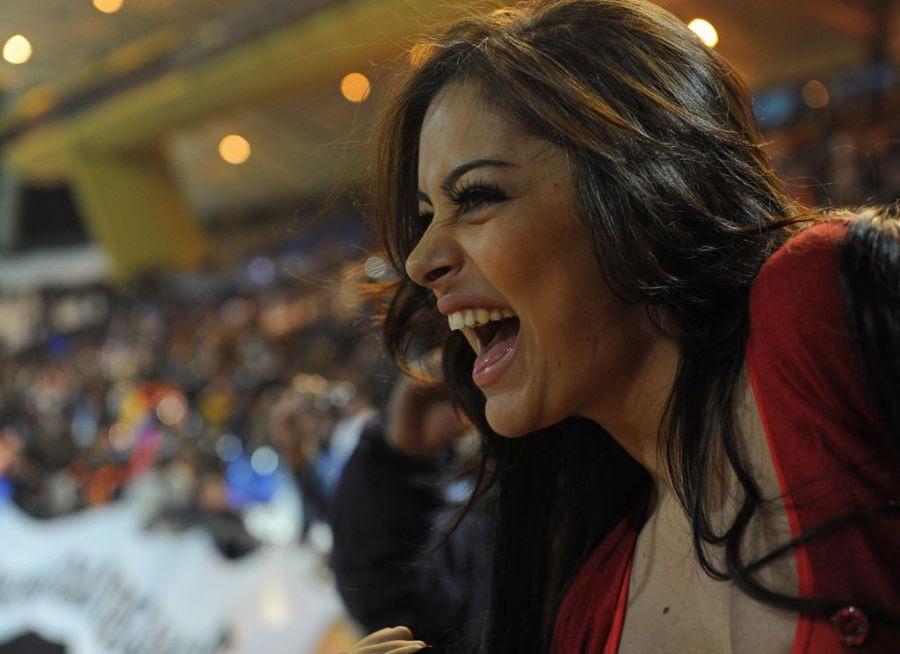 Larissa Riquelme foi eliminada de concurso de dança na semana passada / Pablo Porciuncula/AFP