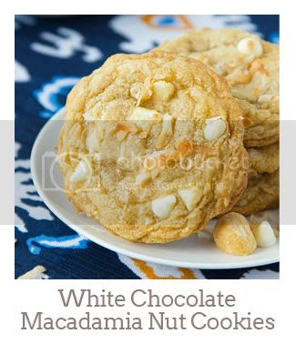 """""""White Chocolate Macadamia Nut Cookies with Toasted Coconut"""""""