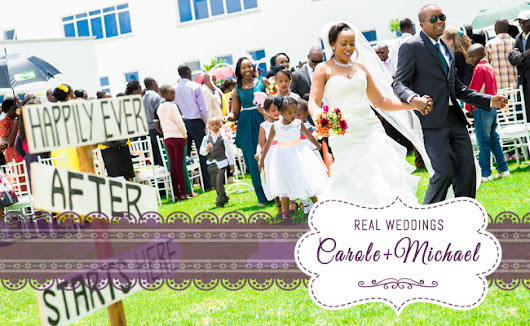Real Wedding: Carole and Michael's Fairytale | Inspire by Weddings Kenya