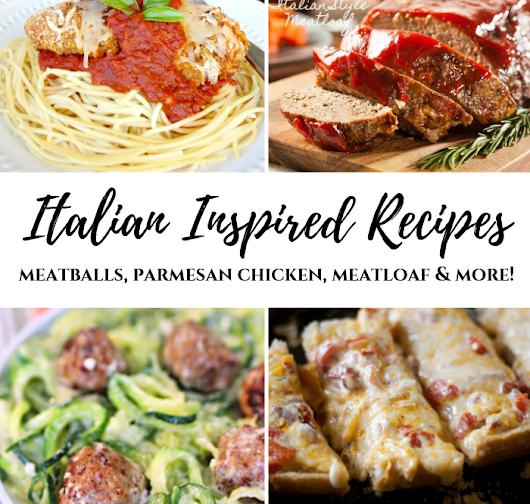 12 Italian Recipes - The Cooking Housewives Hop | My Pinterventures