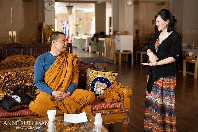 Buddhist monk and Rhoda