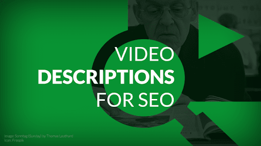 How to Write Effective YouTube Descriptions to Improve SEO