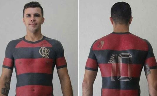 Demostró Ser El Mejor Fanático Del Mundo Al Tatuarse La Camiseta De