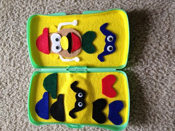Mr. Potato Head felt game by BoDashes on Etsy, $5.00